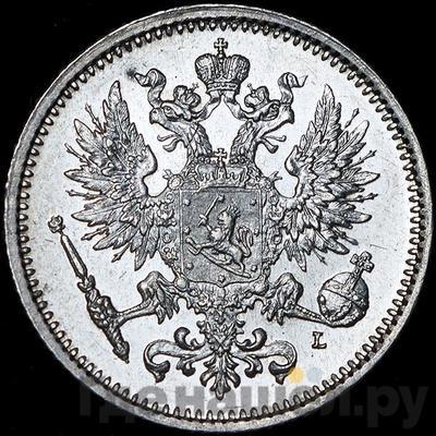 Реверс 50 пенни 1891 года L Для Финляндии