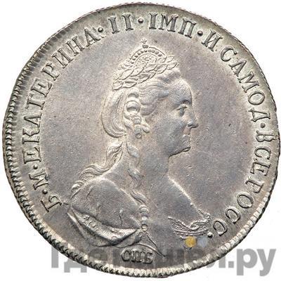 Аверс Полтина 1778 года СПБ ФЛ