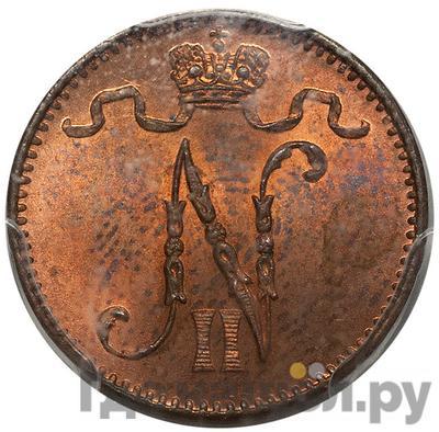 Реверс 1 пенни 1914 года Для Финляндии