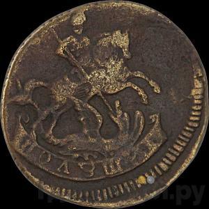 Реверс Полушка 1759 года