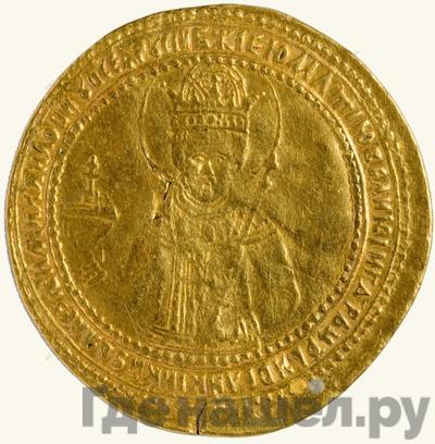 Аверс Жалованный золотой 1645 года  - 1676 Алексей Михайлович