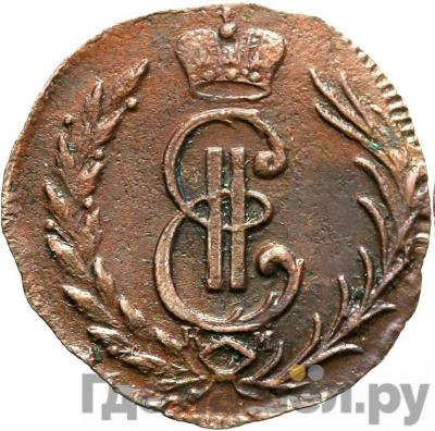 Аверс Денга 1776 года КМ Сибирская монета