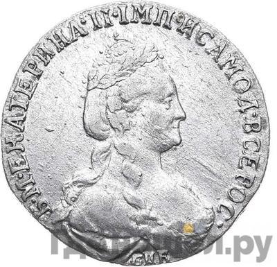 Аверс 15 копеек 1778 года СПБ