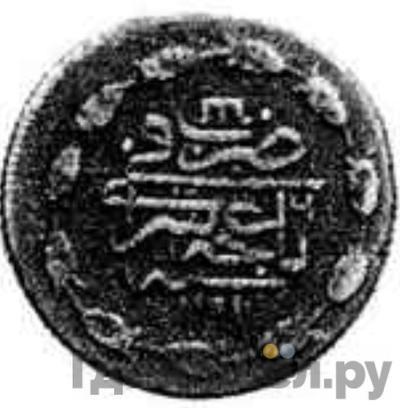 Реверс 1 копейка 1782 года Шахин-Гирей 6-ой год правления