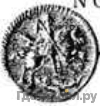 Реверс 1 копейка 1718 года L