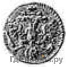 Реверс 1 копейка 1730 года  Пробная, в серебре