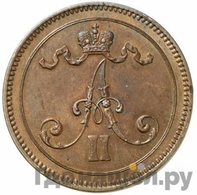 10 пенни 1866 года  Для Финляндии