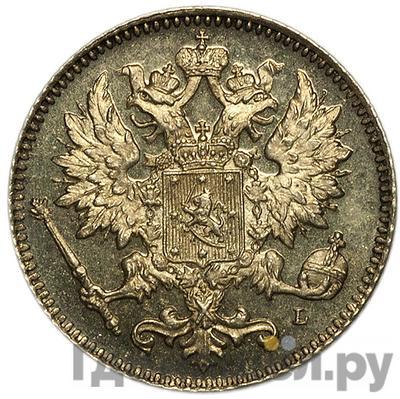 Реверс 25 пенни 1902 года L Для Финляндии