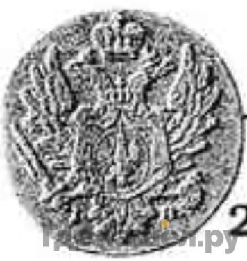 Реверс 1 грош 1816 года IВ Для Польши