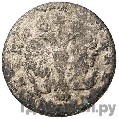 Реверс 2 гроша 1759 года  Для Пруссии