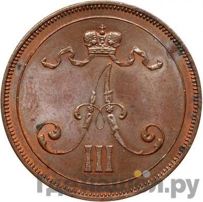 10 пенни 1889 года  Для Финляндии