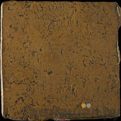 Реверс Гривна 1726 года  Медная плата Без ЦЕНА. Трилистник в клейме