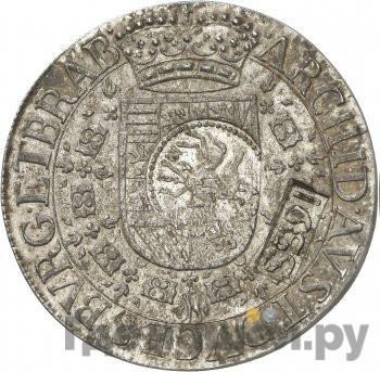Аверс Ефимок 1655 года  с признаком Алексей Михайлович