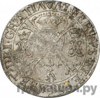 Реверс Ефимок 1655 года  с признаком Алексей Михайлович