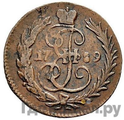 Аверс Денга 1789 года