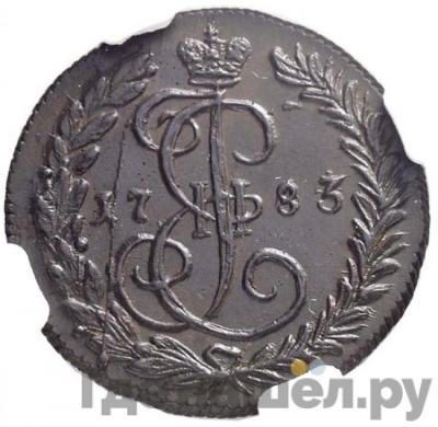 Аверс Денга 1783 года КМ