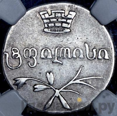 Реверс Двойной абаз 1833 года ВК Для Грузии