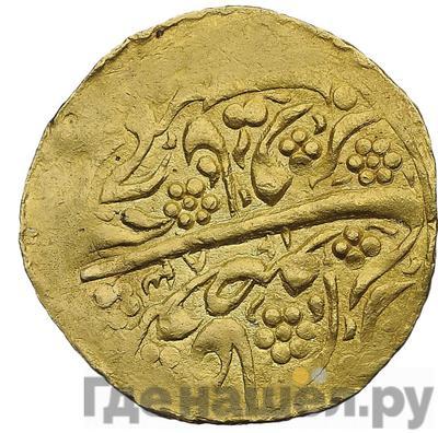 Реверс Тилля 1866 года Бухара 1283 год хиджры