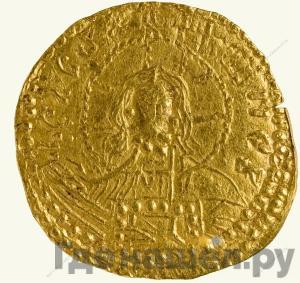 Реверс Златник 980 года - 1015 Владимир Святославович