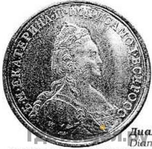 Аверс Медаль 1770 года Т.I. «Быль» за Чесменское сражение