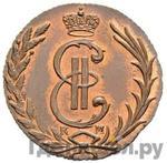 Аверс 1 копейка 1769 года КМ Сибирская монета