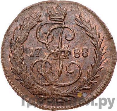 Аверс Денга 1788 года
