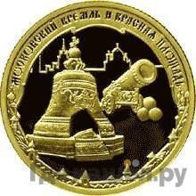 Аверс 50 рублей 2006 года ММД . Реверс: Московский Кремль и Красная площадь