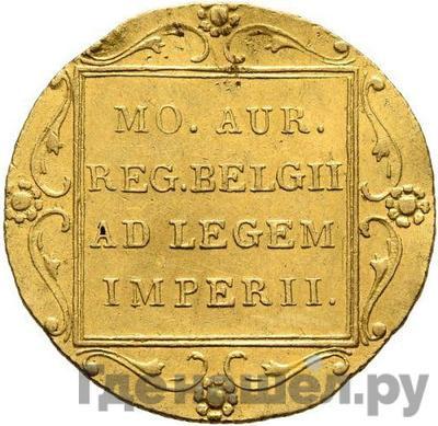 Реверс Дукат 1830 года Нидерландская имитация