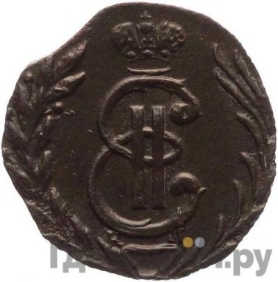 Аверс Полушка 1778 года КМ Сибирская монета