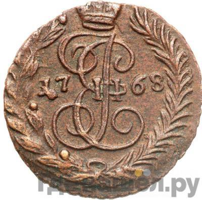 Аверс Полушка 1768 года ЕМ