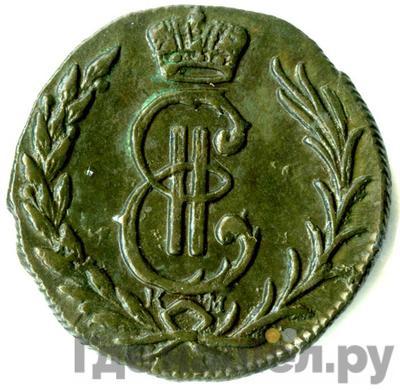 Аверс Денга 1778 года КМ Сибирская монета
