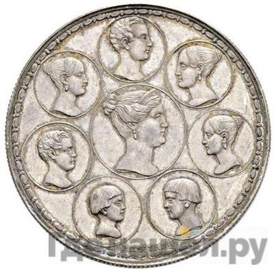 Реверс 1 1/2 рубля - 10 злотых 1835 года Р.П.УТКИНЪ. Семейный