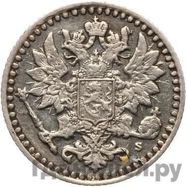 25 пенни 1869 года S Для Финляндии