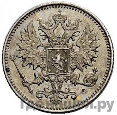 25 пенни 1894 года L Для Финляндии