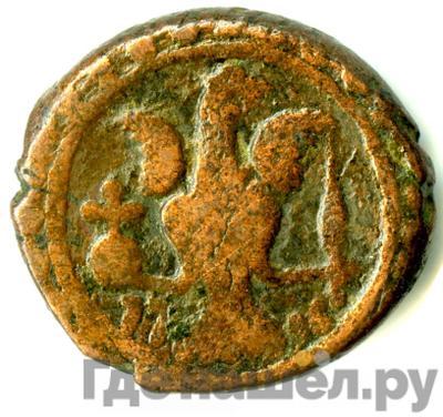 Реверс Полубисти 1796 года Грузинские монеты 1210 год хиджры