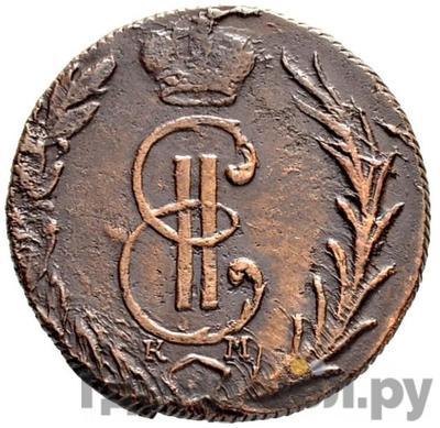 Аверс Денга 1767 года КМ Сибирская монета