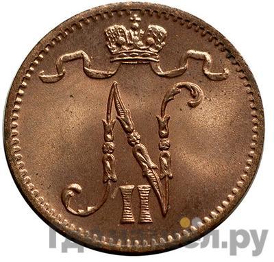 Реверс 1 пенни 1915 года Для Финляндии