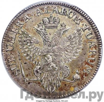 Аверс Полталера 1798 года Йеверская монета