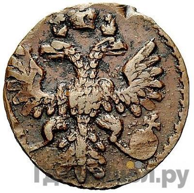 Реверс Полушка 1743 года