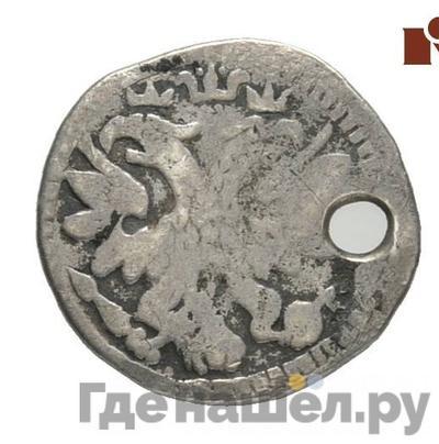Реверс 10 денег 1704 года