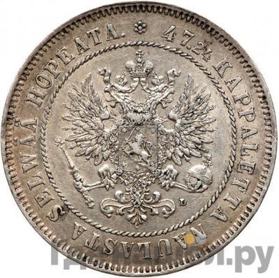 Реверс 2 марки 1906 года L Для Финляндии
