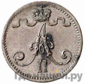 1 пенни 1874 года  Для Финляндии