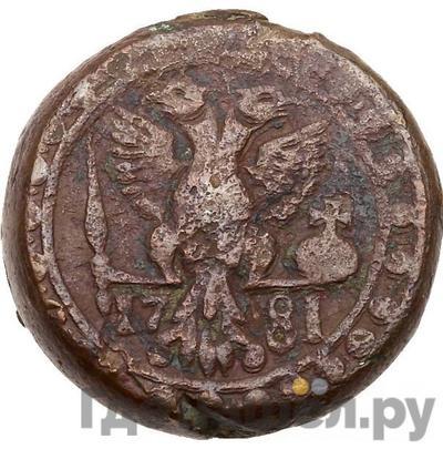 Реверс Бисти 1781 года  Грузинские монеты
