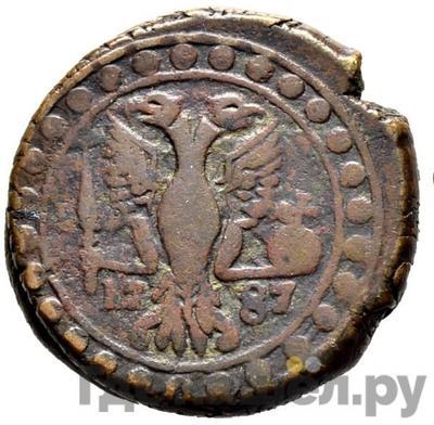 Реверс Бисти 1787 года  Грузинские монеты