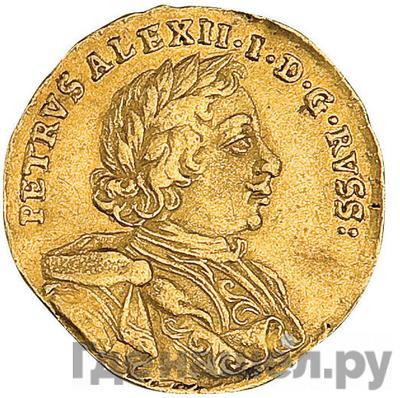 Аверс Червонец 1716 года