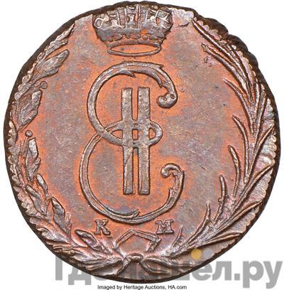 Аверс Денга 1769 года КМ Сибирская монета