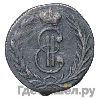Аверс Денга 1766 года  Сибирская монета Без обозначения монетного двора
