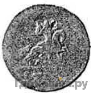 Реверс 1 копейка 1727 года М Пробная