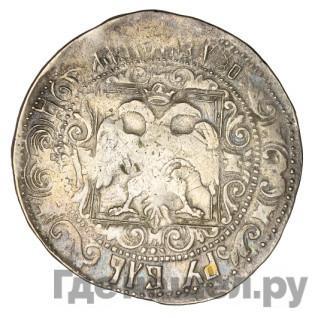 Реверс Рубль 1654 года  Алексей Михайлович