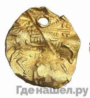 Реверс Копейка 1613 года . - 1645 Михаил Федорович